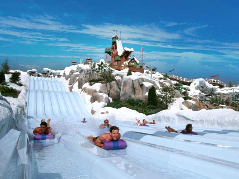 Parques de Disney en Orlando: parque Blizzard Beach de Disney