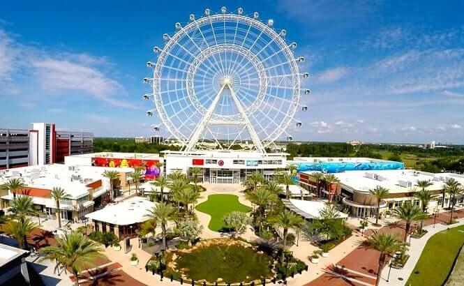 Ahorra en las nuevas atracciones de Orlando: I-Drive 360 - Rueda de la fortuna Orlando Eye