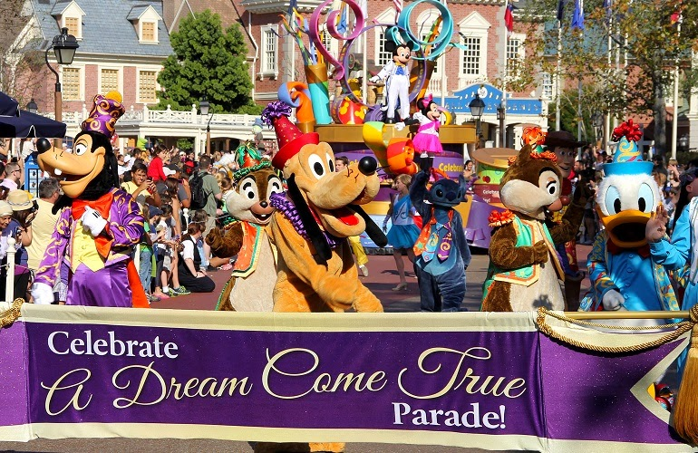 Parque Magic Kingdom de Disney Orlando
