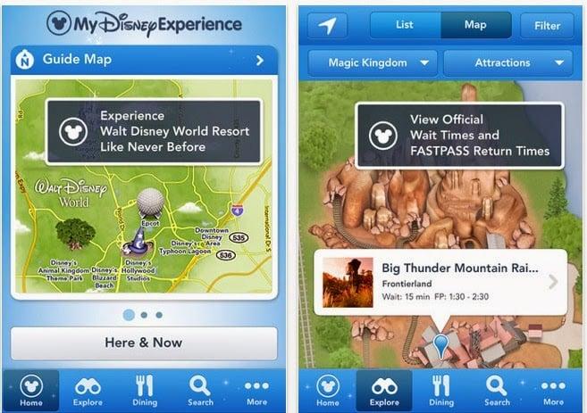 Parques de Disney en Orlando: Aplicación Disney Experience de Disney Orlando