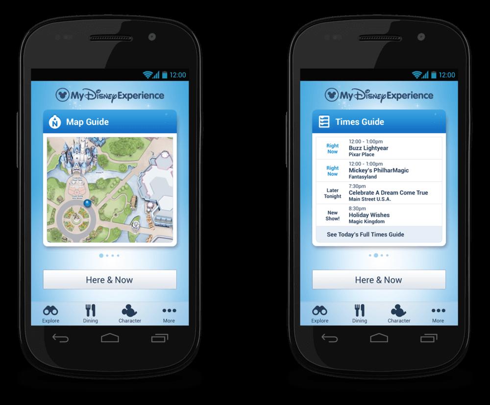 Aplicación de Disney Orlando: My Disney Experience