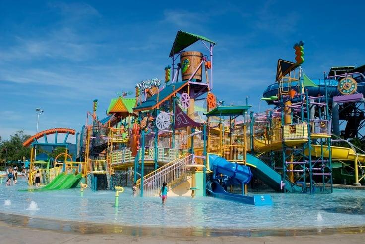 Los mejores parques de Orlando: parque Aquatica en Orlando