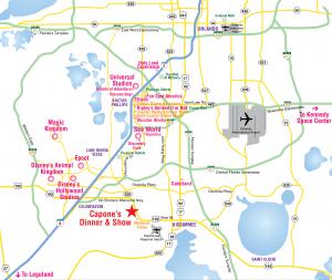 Dónde alojarte en Orlando: Mapa de los vecindarios y regiones de Orlando